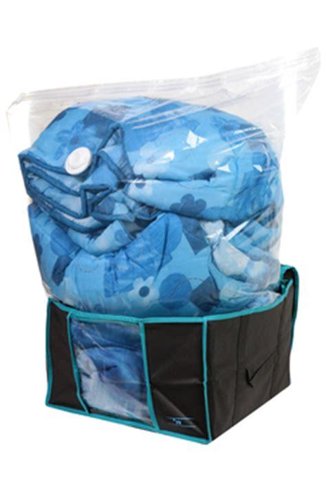 sac et housse rangement vide d air taille l 65 x 50 x 27 cm