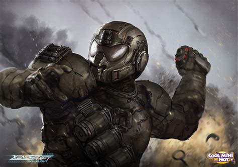 xenoshyft bomb expert deviantart brotherostavia fi sci fantasy soldier onslaught