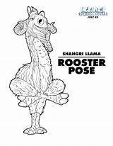 Ice Age Collision Course Coloring Yoga Llama Shangri Trailer Printables July Sheets Iceage Collisioncourse Printable Kleurplaten Celebrate Rooster International Characters sketch template