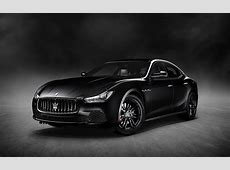 2018 Maserati Ghibli Nerissimo Black Edition Serious Wheels