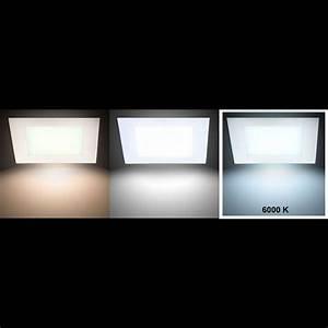 Decken Led Lampen : 6w led tageslicht panel zur decken und wandmontage vt 607 lampen m bel b ro gewerbe led panels ~ Whattoseeinmadrid.com Haus und Dekorationen