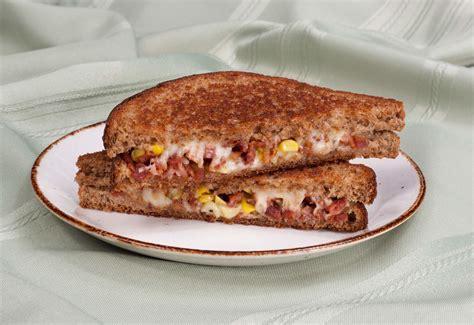 Sandwich Au Fromage Fondant Avec - sandwich au fromage fondant avec ma 239 s et bacon dempster s