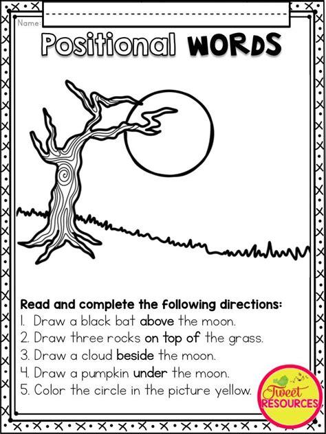 halloween literacy  math activities  kindergarten