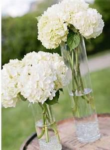 Bouquet Fleurs Blanches : hydrangeas 5 bunches bouquets blancs fleurs blanches ~ Premium-room.com Idées de Décoration
