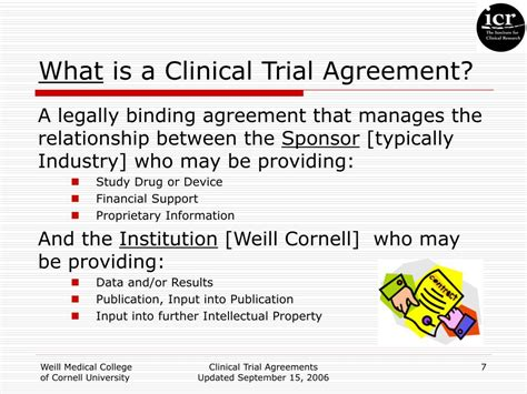 clinical trial agreements powerpoint