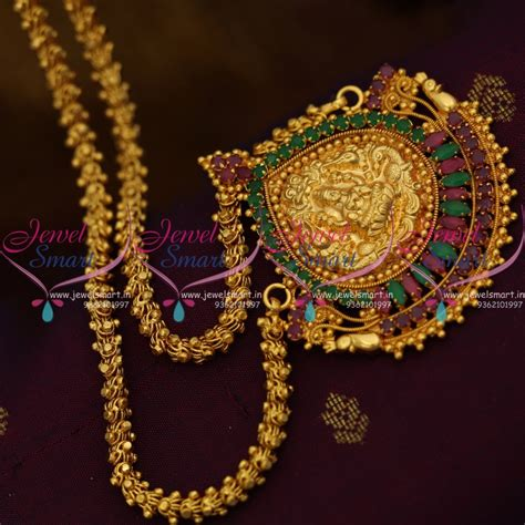 cs gold plated traditional ruby emerald  inches