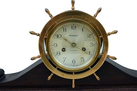 Waterford Ships Bell Clock No. 11 1915 At 1stdibs