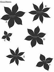 Best 25 ideas about felt flower template find what youll love flat paper flower pattern mightylinksfo