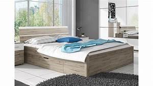 Bett 160x200 Weiß : bett berlin san remo eiche hell wei mit bettkasten 160x200 ~ Indierocktalk.com Haus und Dekorationen