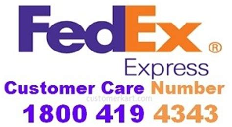 fedex phone number fedex customer care number toll free courier contact no