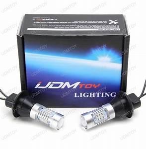 No Hyper Flash 7440 Led Turn Signal Light Bulbs  Plug