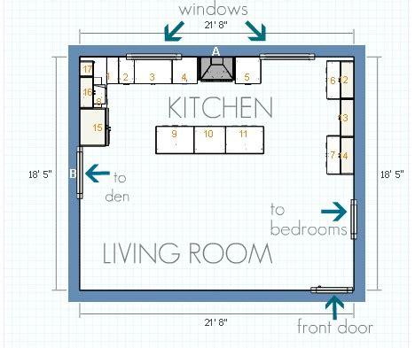ikea kitchen floor plans house tweaking 4532