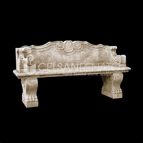 Panchina Pietra by Realizzazione Di Panche E Tavoli Da Giardino In Pietra Di