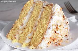 Italian Cream Cake Recipe with Cream Cheese Frosting