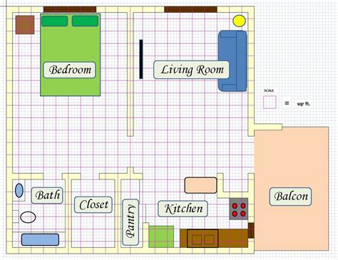 create a floor plan create floor plan using ms excel 5 steps with pictures