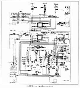 Diesel Engine Electronic Control Circuit Diagram Of 1979