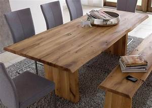Esstisch Baumkante Ausziehbar : massiver baumstamm tisch genesis 180 cm eiche massivholz ~ Watch28wear.com Haus und Dekorationen