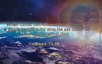 Hebrews Christian Verse Christianwallpaperfree
