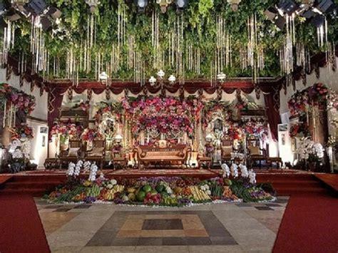 Dekorasi Tradisional Unik Dan Mengesankan Pesta Pernikahan