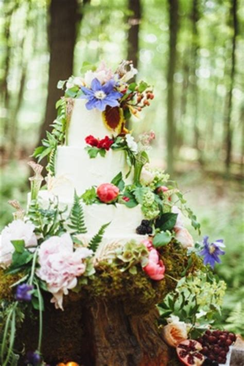 bohemian inspired wedding shoot   enchanted forest