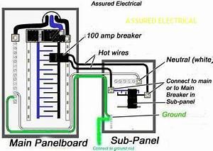 200 Amps Meter Main Wiring Diagram