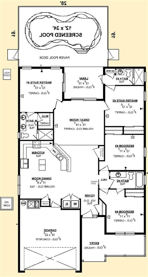 floor plans with 2 master bedrooms house floor plans with 2 master suites home mansion