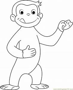 Curious George Coloring Pages Best Coloring Pages For Kids