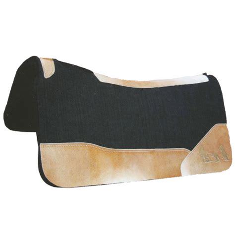 tapis selle western feutre