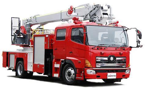 消防車:消防車|屈折はしご付消防車