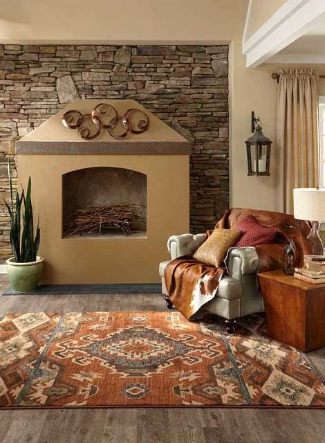 Area Rugs - Rustic - Living Room - Denver - by Go Green