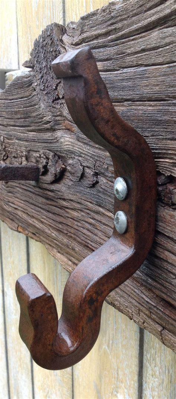 handmade reclaimed wood railroad spike