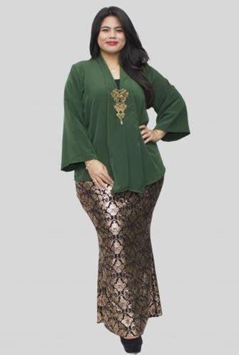 model kebaya muslim  wanita gemuk drive