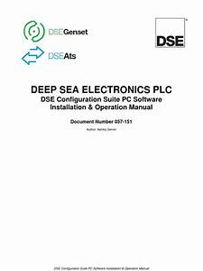 Dse Configuration Suite Pc Software Installation Operation