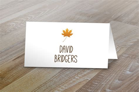 fall table tent  cards card templates  creative market
