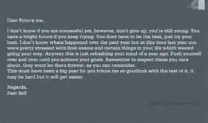 dear future self m3ms39s blog With letter to my future self