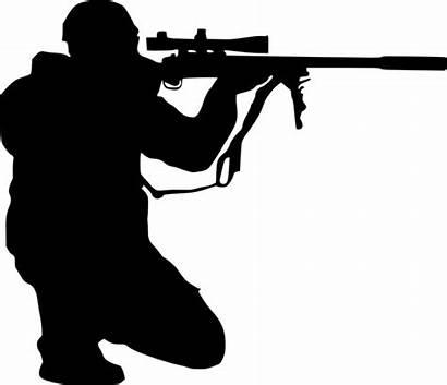 Sniper Silhouette Shooter Transparent Gun Rifle Air