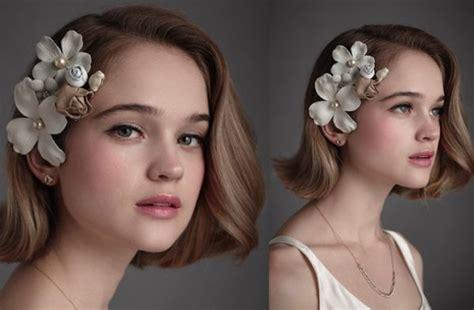 pretty ways  style short hair  wedding  modish