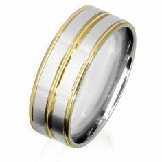 1000 images about men39s wedding rings on pinterest two With men s two colour wedding rings