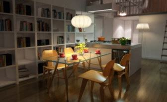 Modern Style Restaurant Kitchen 3d Max Model (3ds,max