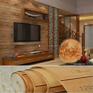 3D culture stone wallpaper Chinese pastoral rock block ...