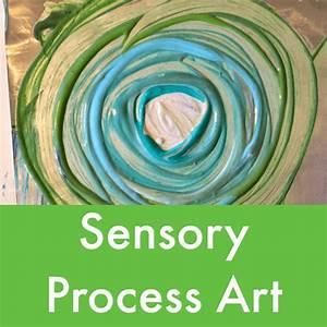 Sensory Process Art Projects for Children