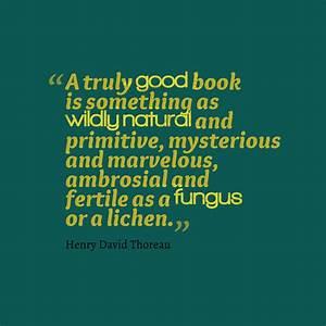 Picture » Henr... Thoreau Book Quotes