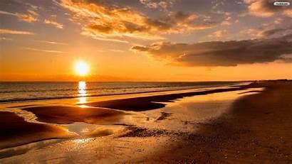 Sunset Beach Desktop Wallpapers Baltana Nature Resolution