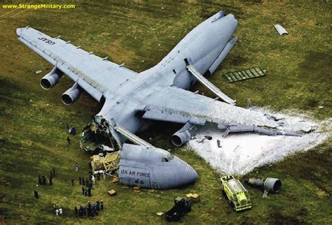 plane crash strange military cargo plane crash