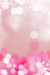 キラキラピンクのGirlyスマホ壁紙💕