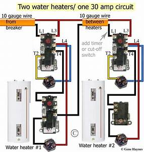 240v Water Heater Wiring Diagram