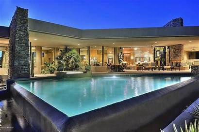 Homes Scottsdale Luxury Az Mountain Phoenix Estate