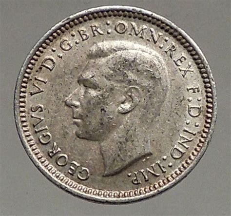 1943 silver wheat 1943 australia threepence silver coin uk king george vi wheat stalks i56838 ebay
