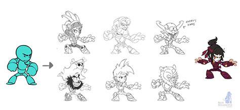 brawlhalla character design on behance