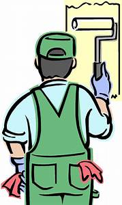 Painter House Painting Clip Art   Painting Services ...